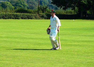 South Wales Hunts Cricket Club member batting in cricket match